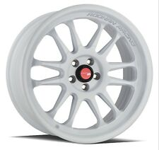 18x8.5 18X9.5 +30 AodHan AH07 5x100 White Wheels FITS BRZ SCION FR-S TOYOTA 86