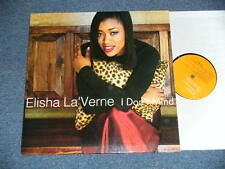 "ELISHA LA 'VERNE 1999 UK Press Japan 12"" Single I DON'T MIND ship from Japan"