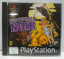 DISCWORLD NOIR - SONY PS1 PAL PLAYSTATION FIRST PRINT USED