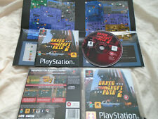 Grand Theft Auto 2 PS1 (COMPLETE WITH MAP) Playstation rare black label GTA2