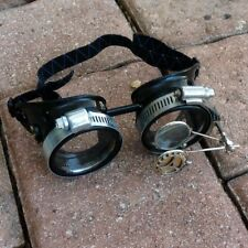 Steampunk goggles Victorian glasses novelty costume goth watch gear lens G1