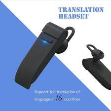 New Multi-Language Voice Translator Bluetooth Earphone learning For Mobile Phone