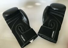 New Century I Love Kick Boxing Adult-Martial Arts Black Gloves C1