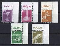 Berlin 668 - 672 Eckrand Ecke 2 postfrisch Industrie und Technik 1982 ungefaltet