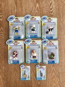 Webkinz Figurines With Webkinz Charms 6 figures