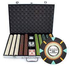 New 1000 The Mint 13.5g Clay Poker Chips Set with Aluminum Case - Pick Chips!