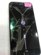 iPhone 6s CRACKED GLASS Bad Lcd Only For Parts Icloudoff - Read- Detail