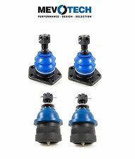 Chevy P20 P30 G20 G30 Van Set of Pairs Front Upper & Lower Ball Joints Mevotech