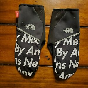 Supreme x TNF The North Face By Any Means Winter Runner's Glove Black SMALL RARE