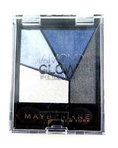 Maybelline Eye studio Eyeshadow 01 Purple Drama Quad diamond glow New sealed