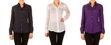 Markenlose Damen-Blusen Damenblusen, - tops & -shirts aus Seide