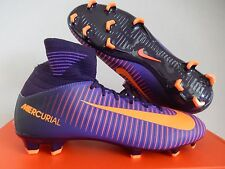 NIKE JR MERCURIAL SUPERFLY V FG PURPLE DYNASTY SZ 4Y-WOMENS SZ 5.5 [831943-585]