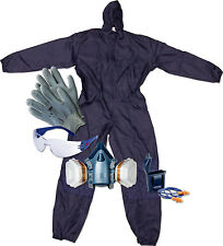 Arbeitsschutzset overall, gafas, tapones para los oídos, guantes, lackiermaske 3m 50733