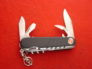 "Wenger Switzerland Buck USA 3-3/8"" Multi Function Camping Scout Camp Knife"