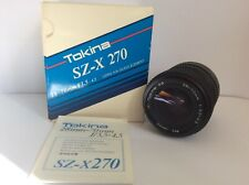 TOKINA SZ-X 270 LENS 28-70mm New never used in Box