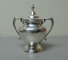 "VINTAGE WALLACE STERLING SILVER COVERED SUGAR BOWL ""COVENTRY"" PATTERN #365"