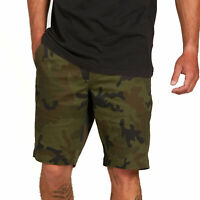 Volcom Men's Frickin Modern Stretch Shorts Camouflage Green Clothing Apparel ...
