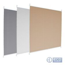 Pleated blinds many sizes/colours easy fit install plisse conservatory blinds