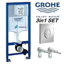 GROHE RAPID SL FRESH 3in1 TOILET CISTERN CONCEALED WC FRAME SKATE AIR 38827000