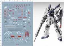 Super Detail MG 1/100 MSN-06S Sinanju Stein Gundam Model Kit Water Slide Decal