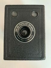Kodak Six-20 Popular Brownie - Takes 620 Kodak Film With Case