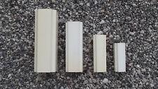 Vases gigognes en plastique blanc années 70 designer Jacques Bédat