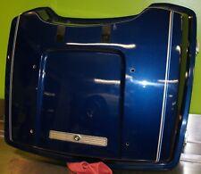 1998 Harley Davidson Sinister Blue tour pack lid - exec. used 53212-98TL