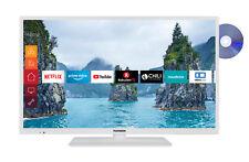 Telefunken XH32G511D-W 32 Zoll Smart TV mit DVD-Player HD-TV Triple-Tuner WLAN