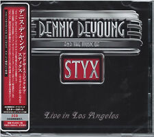 DENNIS DE YOUNG-AND THE MUSIC OF STYX LIVE IN. -JAPAN 2 CD BONUS TRACK G88