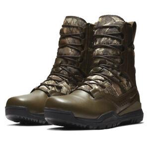 "Nike SFB Field 2 8"" Realtree GORE-TEX Hunting Boots Camo AQ1203-200 Men's"