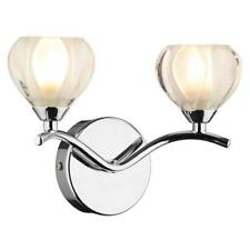 2 Light Wall Light Polished Chrome, Cynthia, BNIB, BD, Home, Lighting (J)