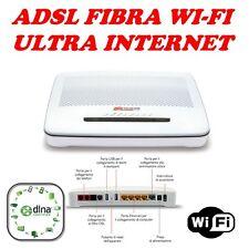 MODEM ROUTER FIBRA ADSL 2+ WIFI TIM TELECOM ULTRA INTERNET