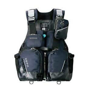 SHIMANO XEFO Tripper Game Fishing Vest VF-275R NAVY COREACT BOA Japan EMS
