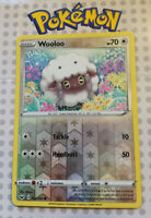 "Pokemon card Wooloo 153/202 Reverse HOLO Colourless Mint ""Sword & Shield"""