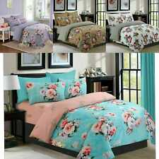 100%  Cotton egyption Duvet cover complete Set With Fitted Sheet and Pillow Case