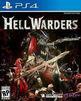 Hell Warders PS4 BRAND NEW FACTORY SEALED (Sony PlayStation 4) Free Shipping