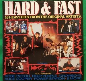 Hard & Fast - 16 Heavy Hits From Original Artists - LP - DIN191 - 2007