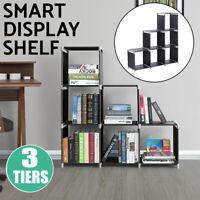 3 Tier Storage 6 Cube Organizer Closet Cabinet Clothes Home Rack Bookcase Shelf