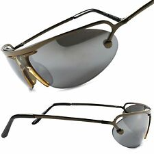 Mirrored Lens Motorcycle Riding Biker Cycling Outdoor Wrap Sport Sunglasses