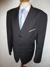 MENS TED BAKER ACCELERATED DARK GREY WOOL PROM SUIT JACKET 42 WAIST 36 LEG 31.5