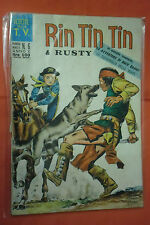 RINTINTIN E RUSTY -N°6- DA L.100- SERIE TV- DEL 1969 -ED.CENISIO- (rin tin tin)