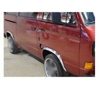 VW TRANSPORTER T3 '79-92 Pritsche Kotflügel Radlauf Zierleisten Vorne LKW CHROM