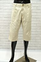 Bermuda Uomo LEE Taglia 31 Pantaloncino Shorts Man Pantalone Corto Casual