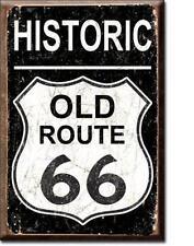 Route 66 Historic Magnet Magnetschild aus USA im Vintage Design