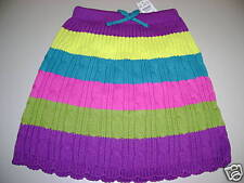 NWT TCP children's place Rainbow sweater knit skirt 3t PRIDE dance winter