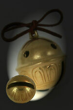Polar Bear Express Bell #9 Brass Sleigh Bell Have an 9 yr old? Help them Believe