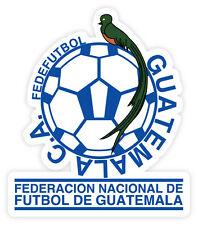 Guatemala CA Fedefutbal football calcio adesivo etichetta sticker 10cm x 12cm