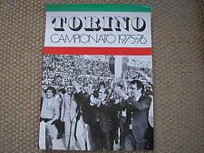 TORO TORINO  SARGRAF CAMPIONATO 1975-76 COPERTINA SCUDETTO CAMPIONE D'ITALIA