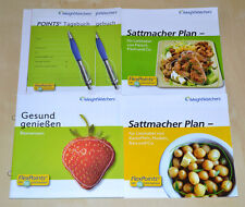 Weight Watchers Start Broschüren POINTS® Analyse Ihr Sattmacher Plan SET in 2018