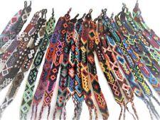#230 Cuzco 15 Woven Wool Pattern Friendship Bracelets Pack Lot Peru Artisan Mix